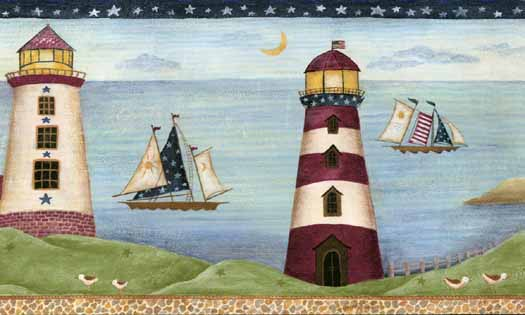 Lighthouse Wallpaper Border   Wallpaper Border Wallpaper inccom 525x315