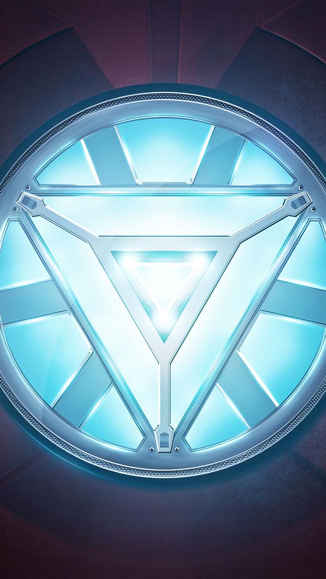 Iron man Heart iPhone 5 Wallpaper 640x1136