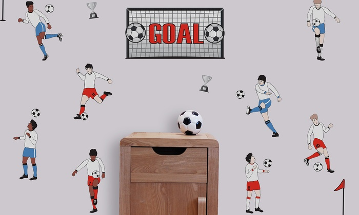 Soccer Peel and Stick Wall Decals Soccer Peel and Stick Wall Decals 700x420