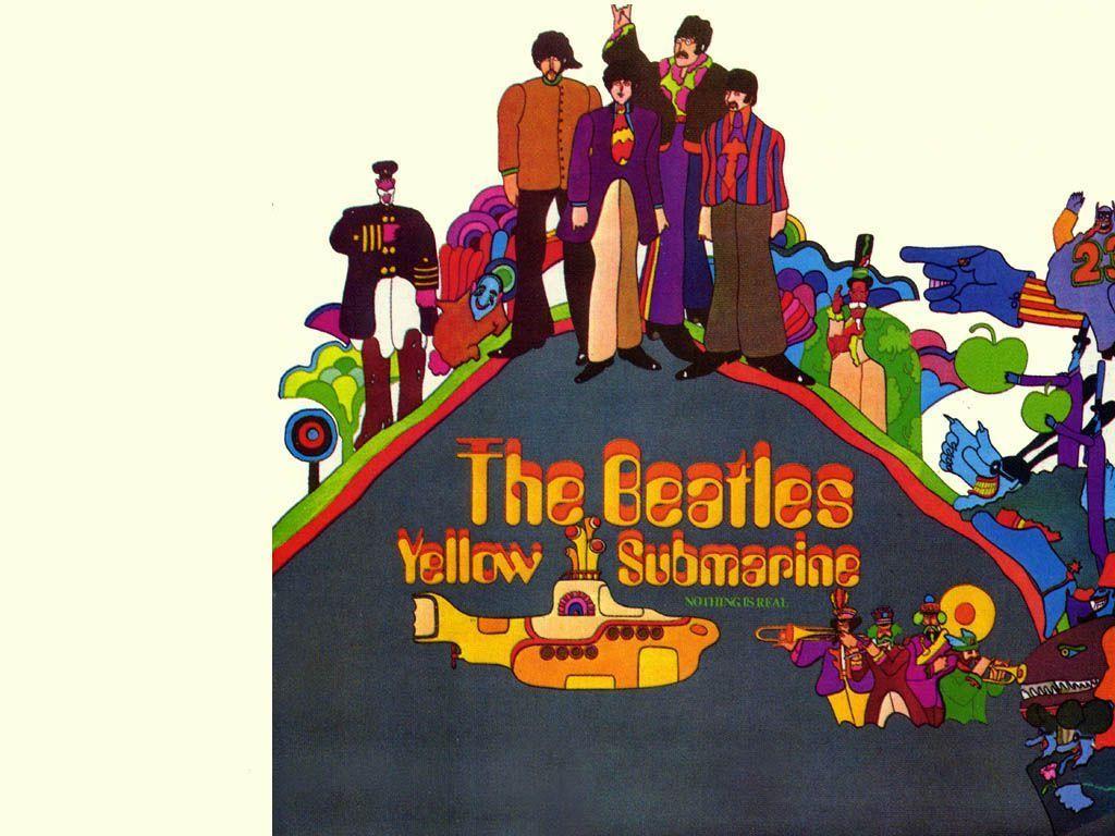 Yellow Submarine Wallpapers 1024x768
