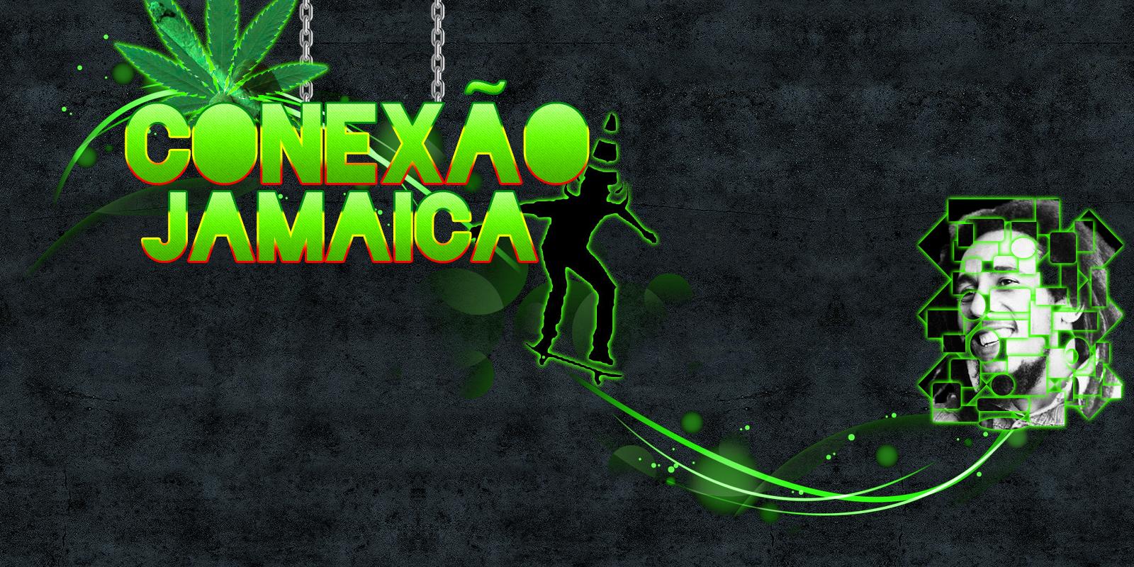 Um wallpaper simple de um grupo do FaceBook chamado Canexo Jamaica 1600x800