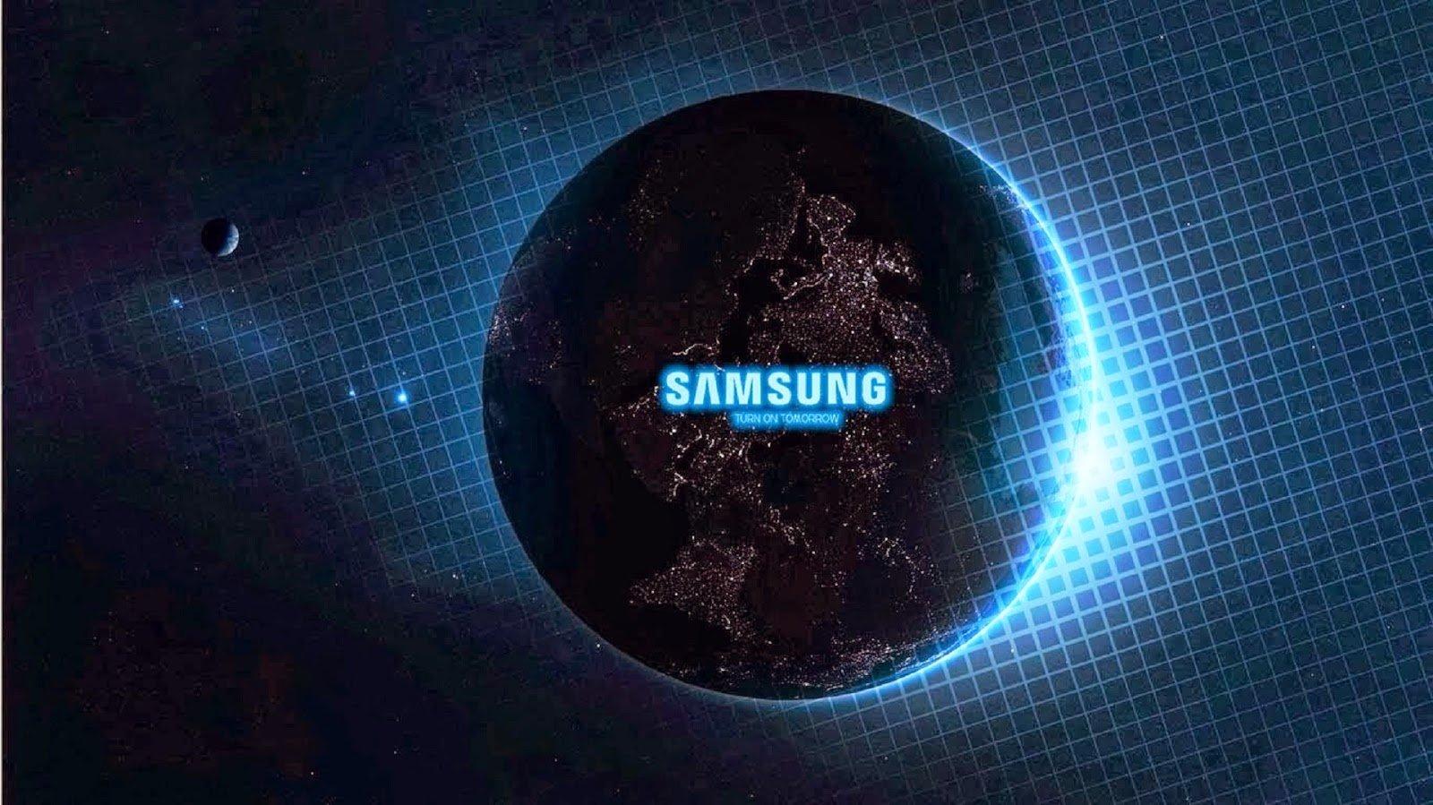 Samsung Logo Wallpaper 1600x899