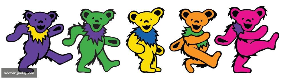 Dancing Bears Grateful Dead Wallpaper Wallpapersafari