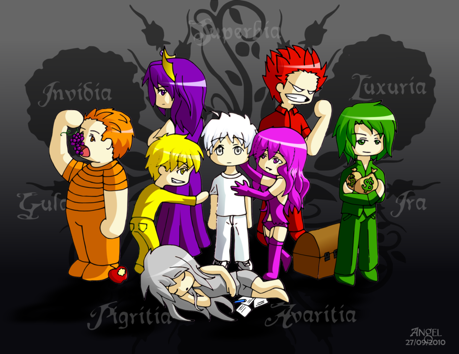 The Seven Deadly Sins by OkamiTenshi 94 900x695