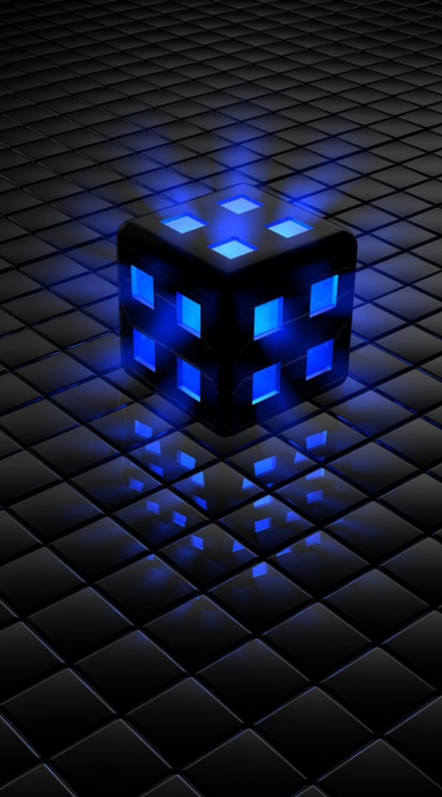 Black Blue Cool wallpapersc iPhone6Plus 1438x2592