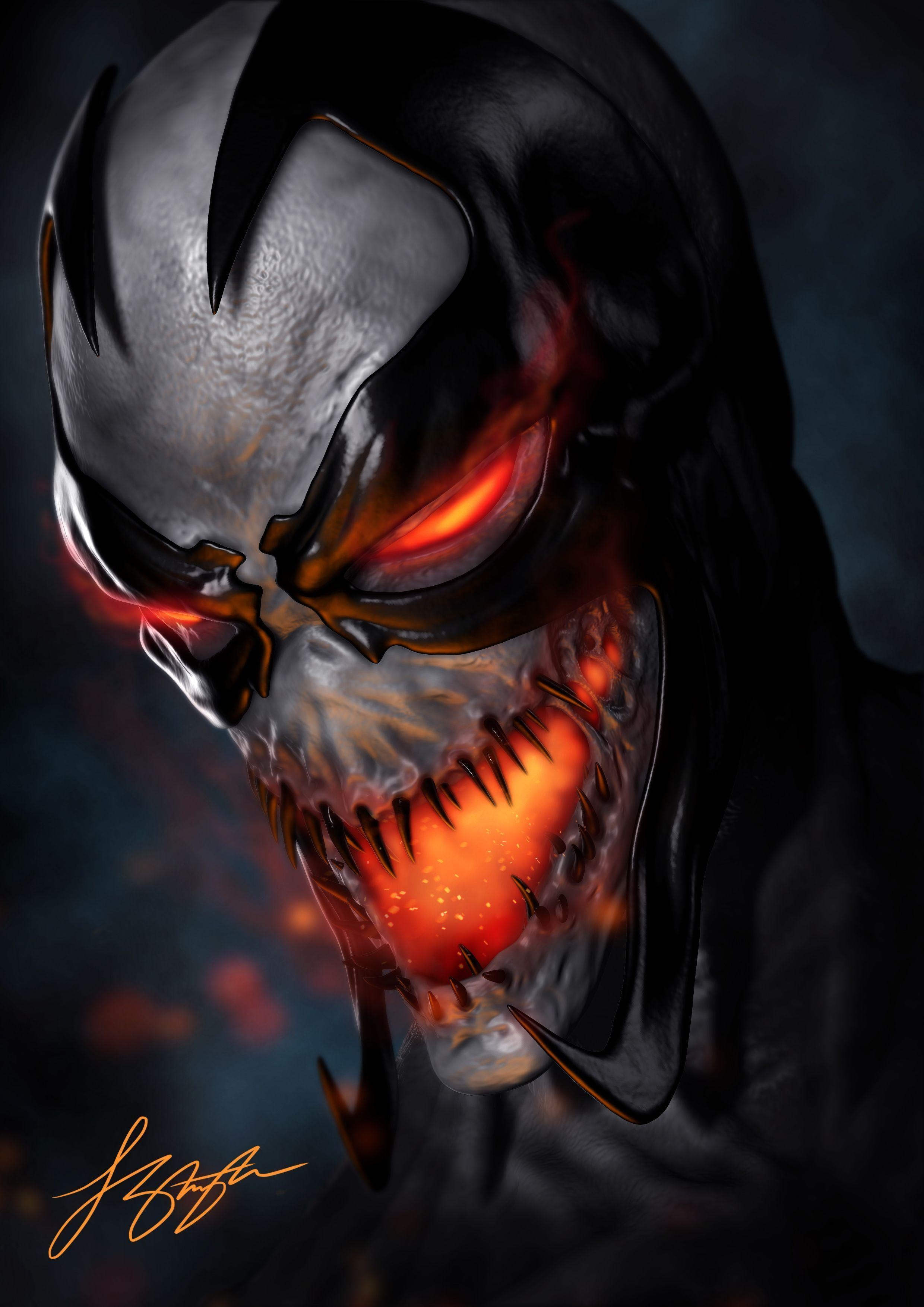 98 Anti Venom Wallpapers On Wallpapersafari