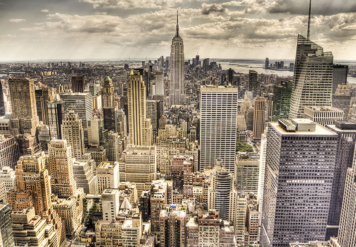 Wall Mural NEW YORK CITY SKYLINE Photo Wallpaper CITYSCAPE approx 709x492