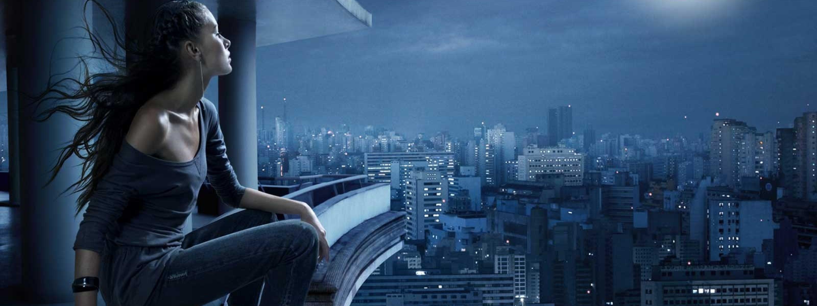Hd Wallpapers Brooklyn Bridge Panorama Dual Monitor Otherjpg 2560 X 3200x1200