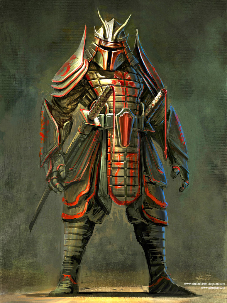 Free Download Samurai Boba Fett By Cgfelker 774x1031 For Your