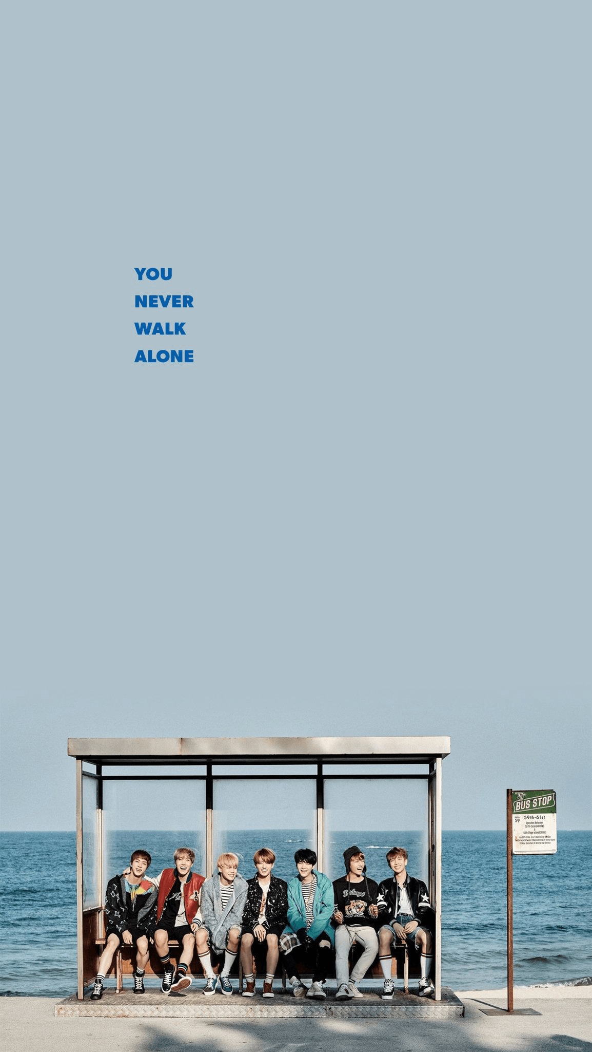 You Never Walk Alone BTS Wallpapers   Top You Never Walk 1154x2048