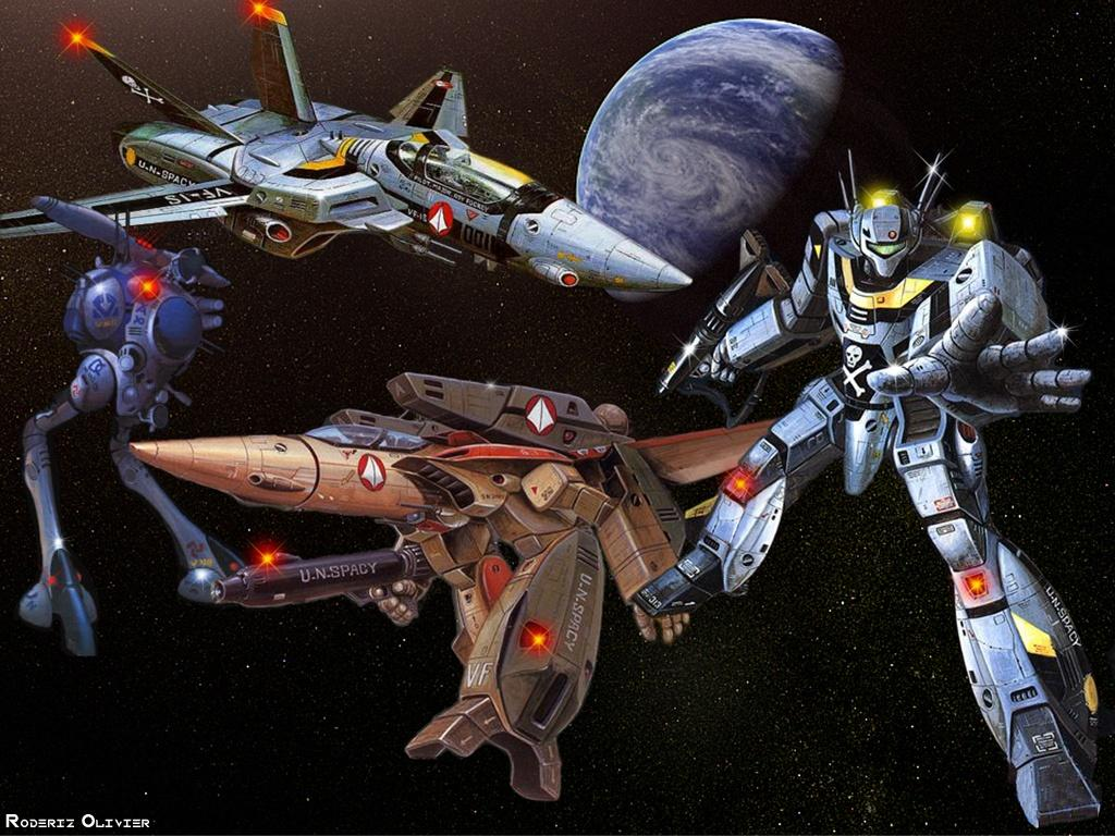 Robotech Wallpaper Wallpapersafari