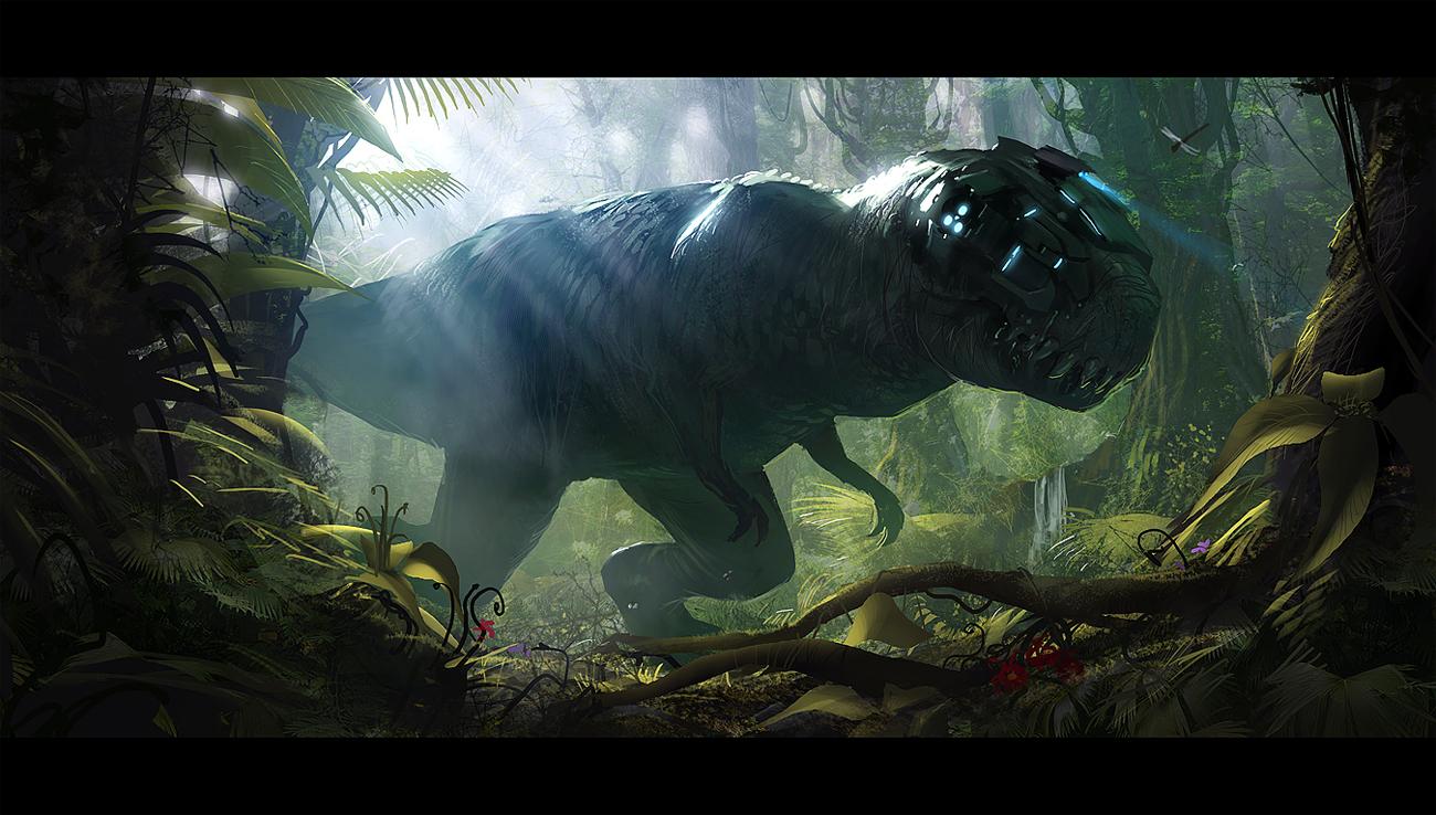 Jurassic Park T Rex Wallpaper Jurassic park 1300x738