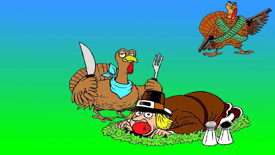 Funny Thanksgiving Hd Wallpapers Funny hd thanksgiving 1136x640