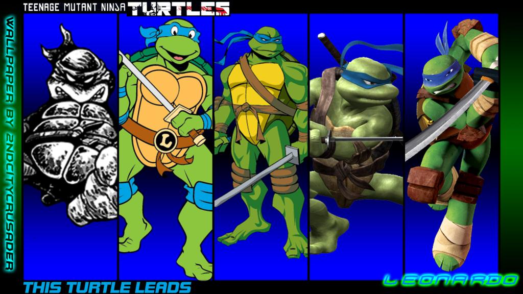 TMNT Generations Wallpaper   Leonardo by 2ndCityCrusader 1024x576