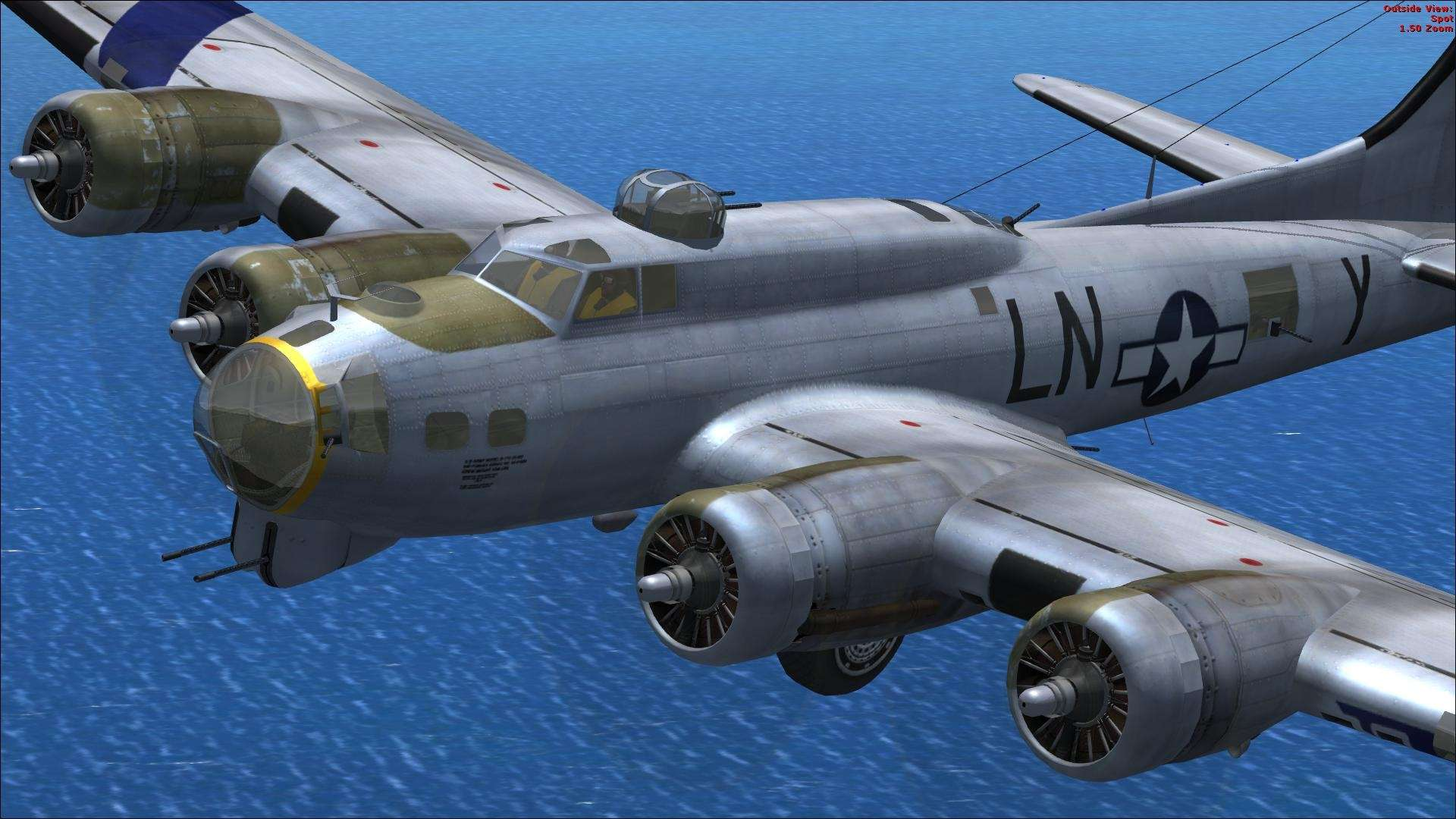 View Of B 17 Fsx Wallpaper Hd Wallpapers 1920x1080