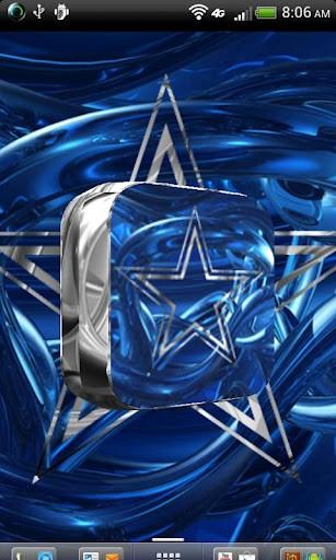 Dallas Cowboys Star Logo 3d 3d spinning artistic logo live 307x512