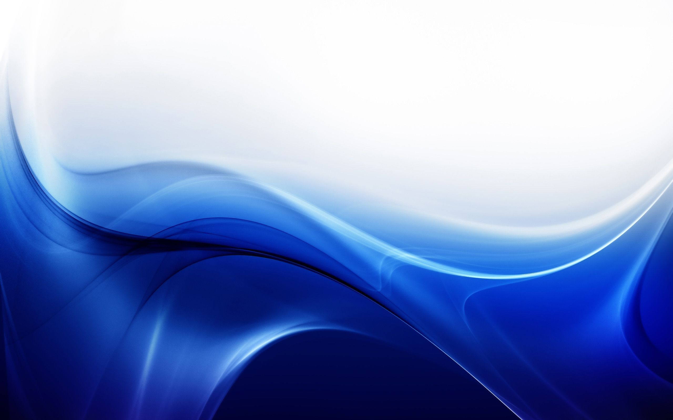 White And Blue Abstract Wallpaper High Definition On Wallpaper 2560x1600