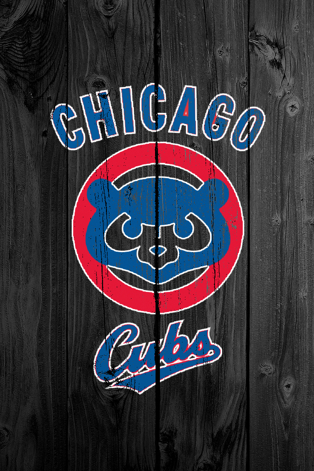 Cubs Wallpaper Iphone My iphone 5 wallpaper hd wood 640x960