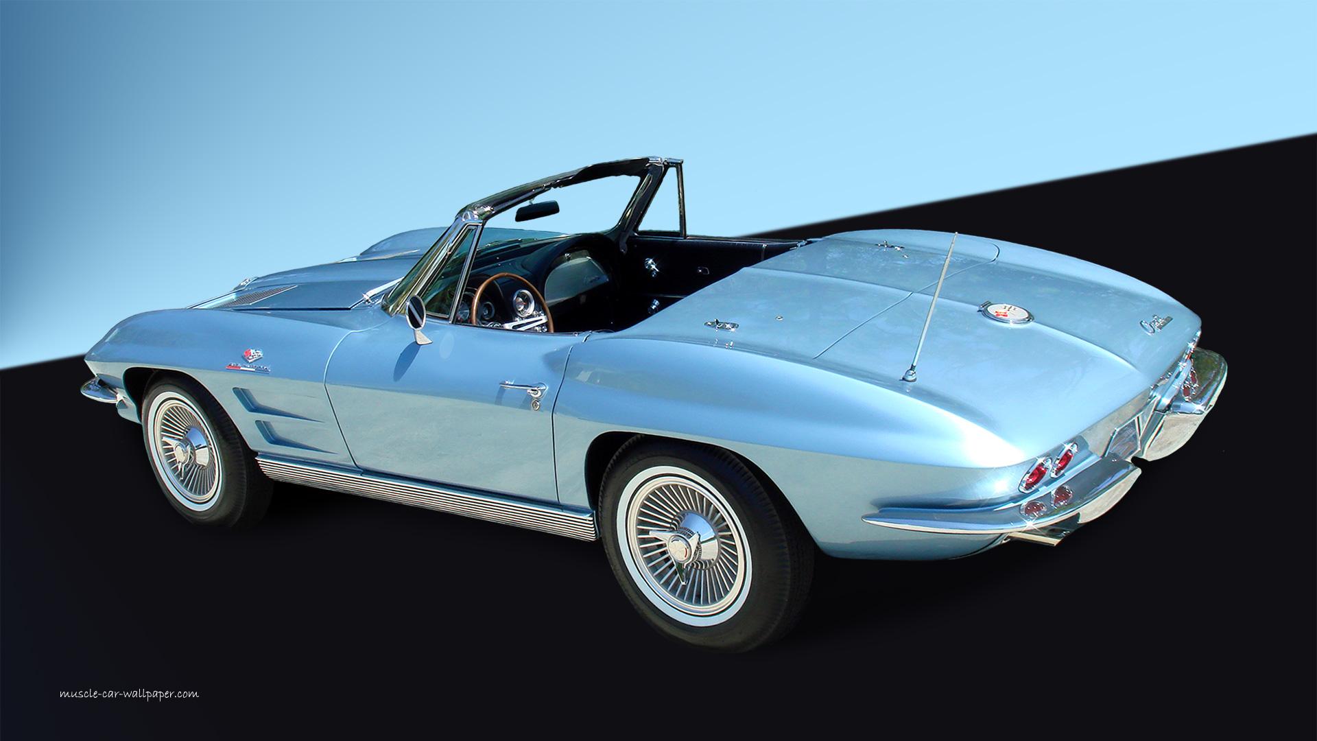 Corvette Wallpaper - 1963 Corvette Convertible | 1920x1080_01