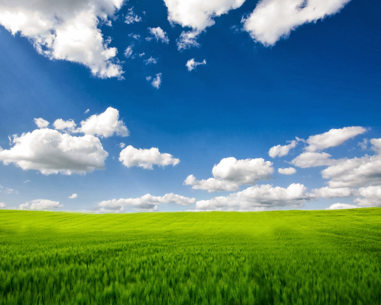 Wallpapers Zone Beautiful Blue Sky Wallpapers 1280x1024