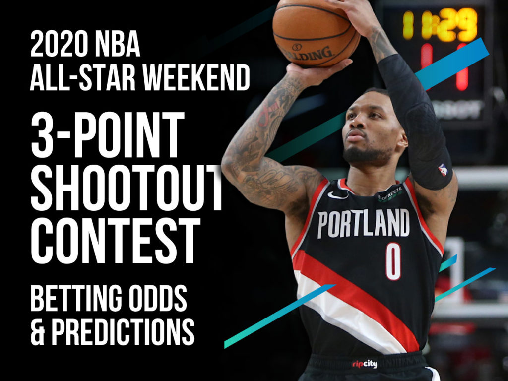 Bet On The 2020 NBA Three Point Shootout Contest Betting Odds Pick 1024x768