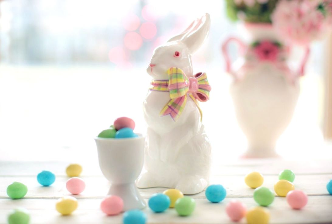Rabbit With Easter Eggs Wallpaper my sims 3 downloads 1092x736