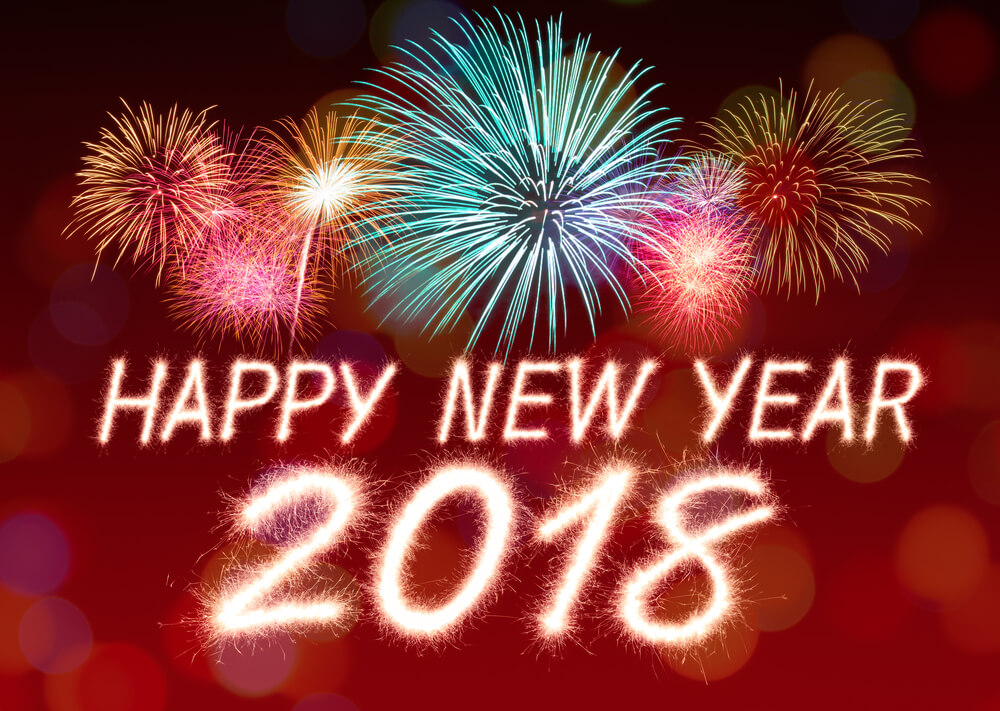 happy new year 2018 hd wallpaper images 1000x711