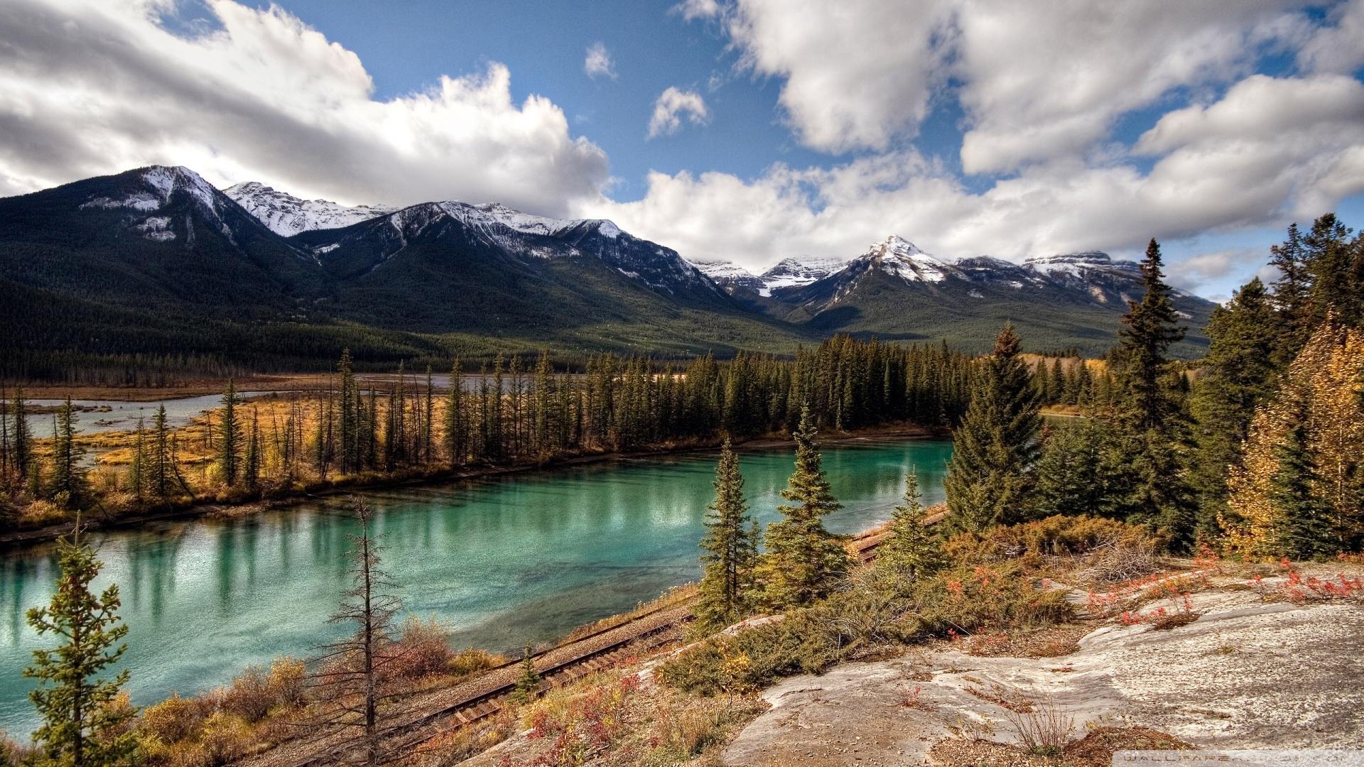 Alberta Canada Wallpaper 1920x1080 Banff National Park Alberta 1920x1080