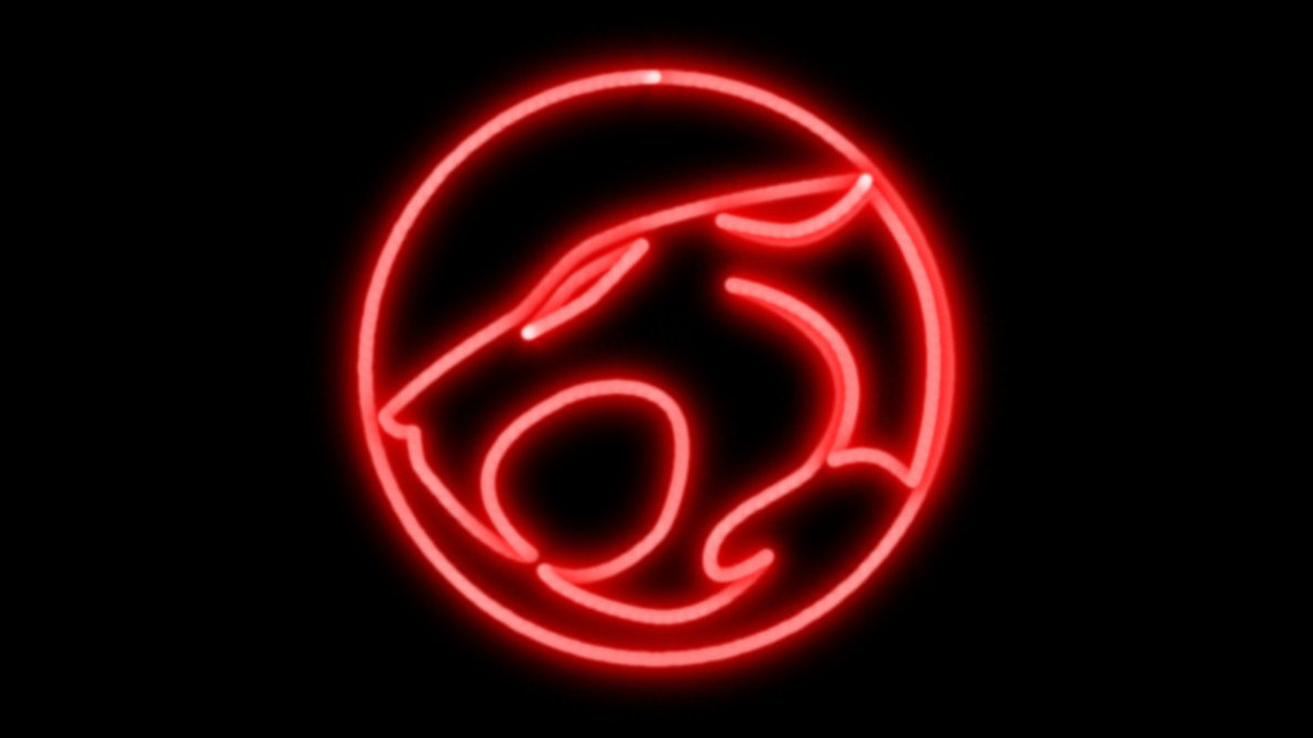 ThunderCats Neon Symbol WP by MorganRLewis 1192x670