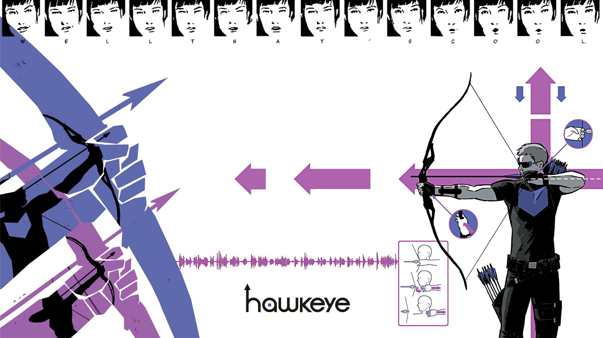 Comics   Hawkeye Wallpaper 1924x1080