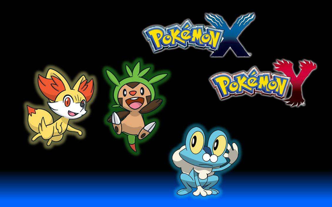 Pokemon X Y Main Pokemons Wallpaper by NatuTorchic on deviantART 1131x707