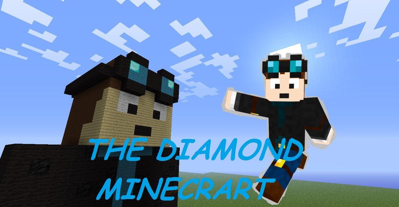 Minecraft Statue House Build The Diamond Minecart 1358x706