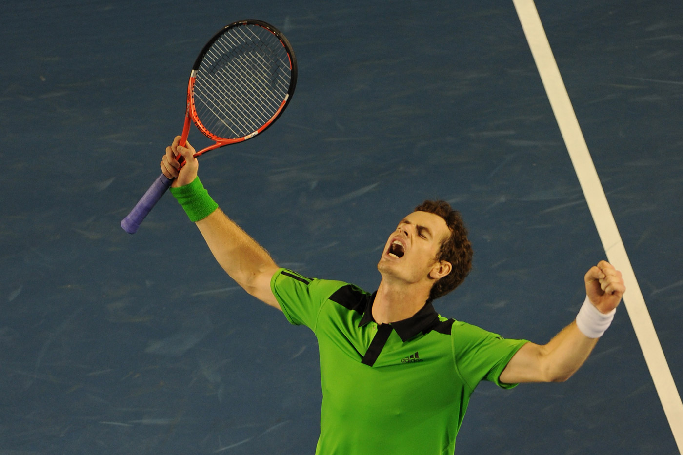 Murray Australian Open Desktop Wallpaper Screensaver Background Tennis 1400x933