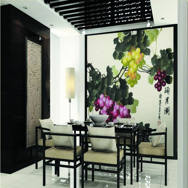 New design Chinese style wallpaper 600x600