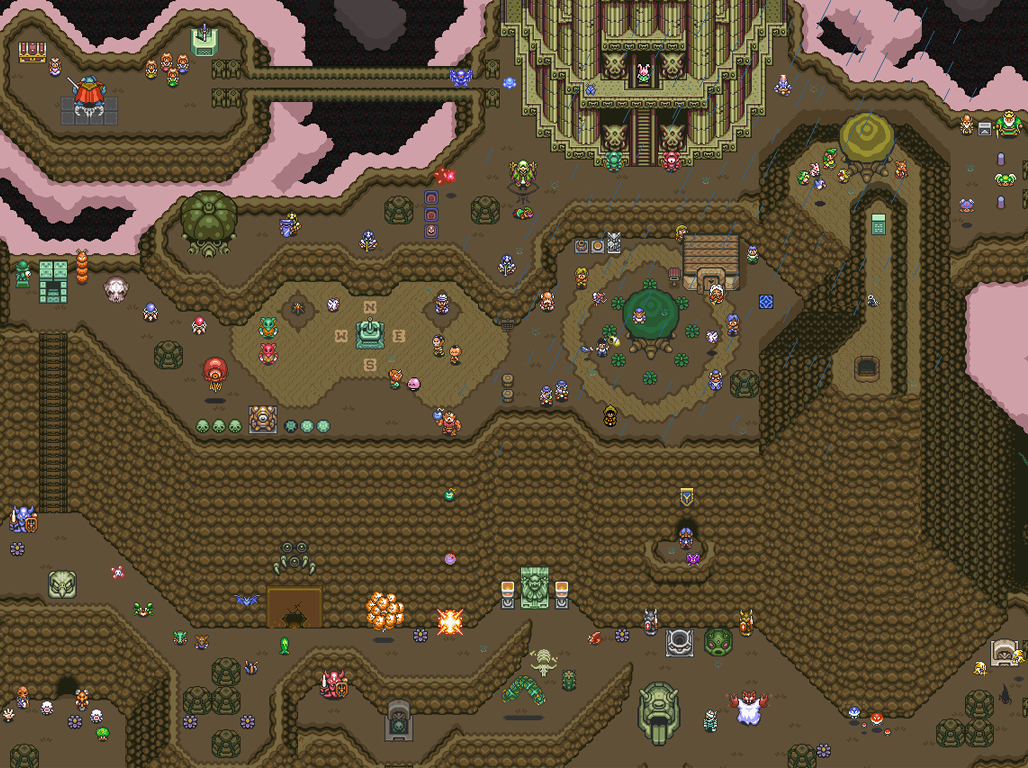 Free Download Displaying 20 Images For A Link To The Past Map