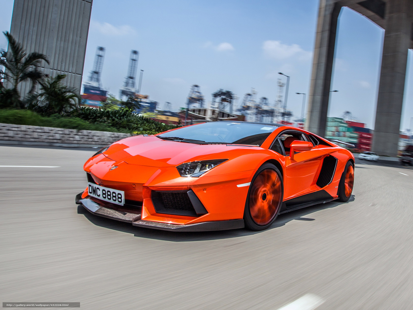 Download wallpaper Lamborghini aventador Tuning motion desktop 1600x1200