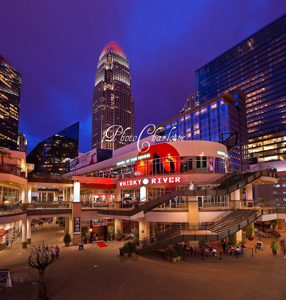 Epicentre with the Charlotte skyline in the background Flickr 975x1024