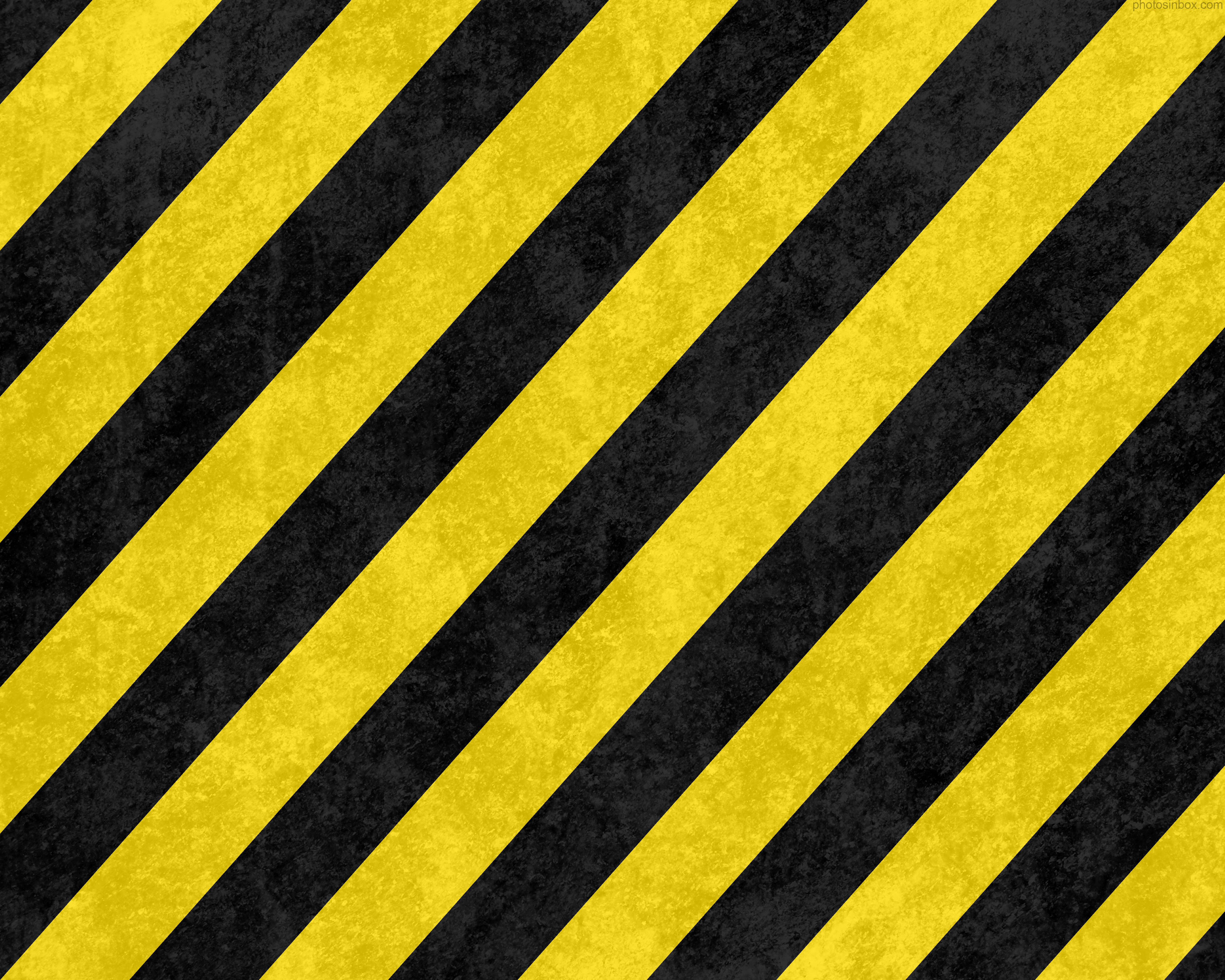 Yellow Stripe Wallpaper: Black And Yellow Wallpaper