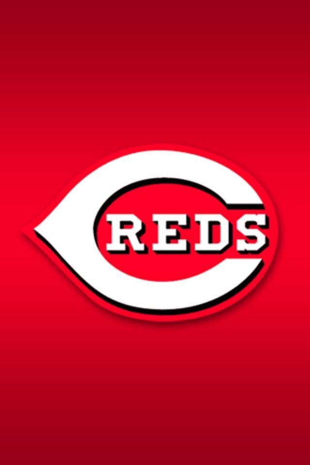 cincinnati reds logo wallpaper cincinnati reds cheerleader wallpaper 640x960