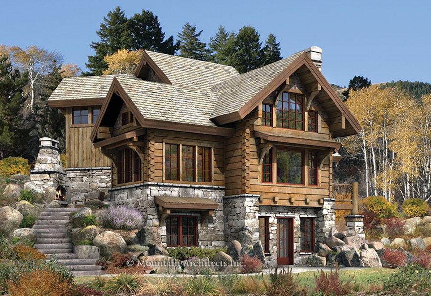 Log Cabin Home Wallpaper   ForWallpapercom 880x605