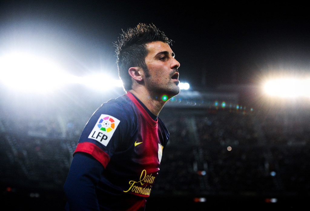 David villa barcelona fc wallpapers Background HD Wallpaper for 1024x697