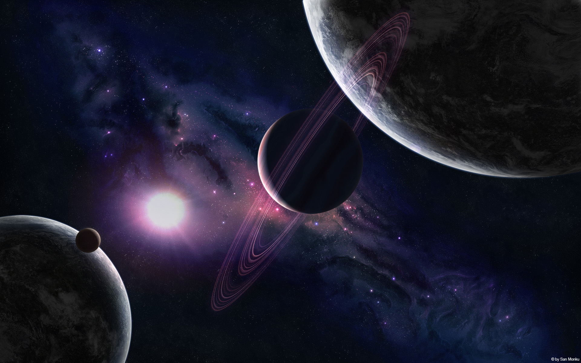 Space planet wallpaper Wallpapers   HD Wallpapers 86471 1920x1200