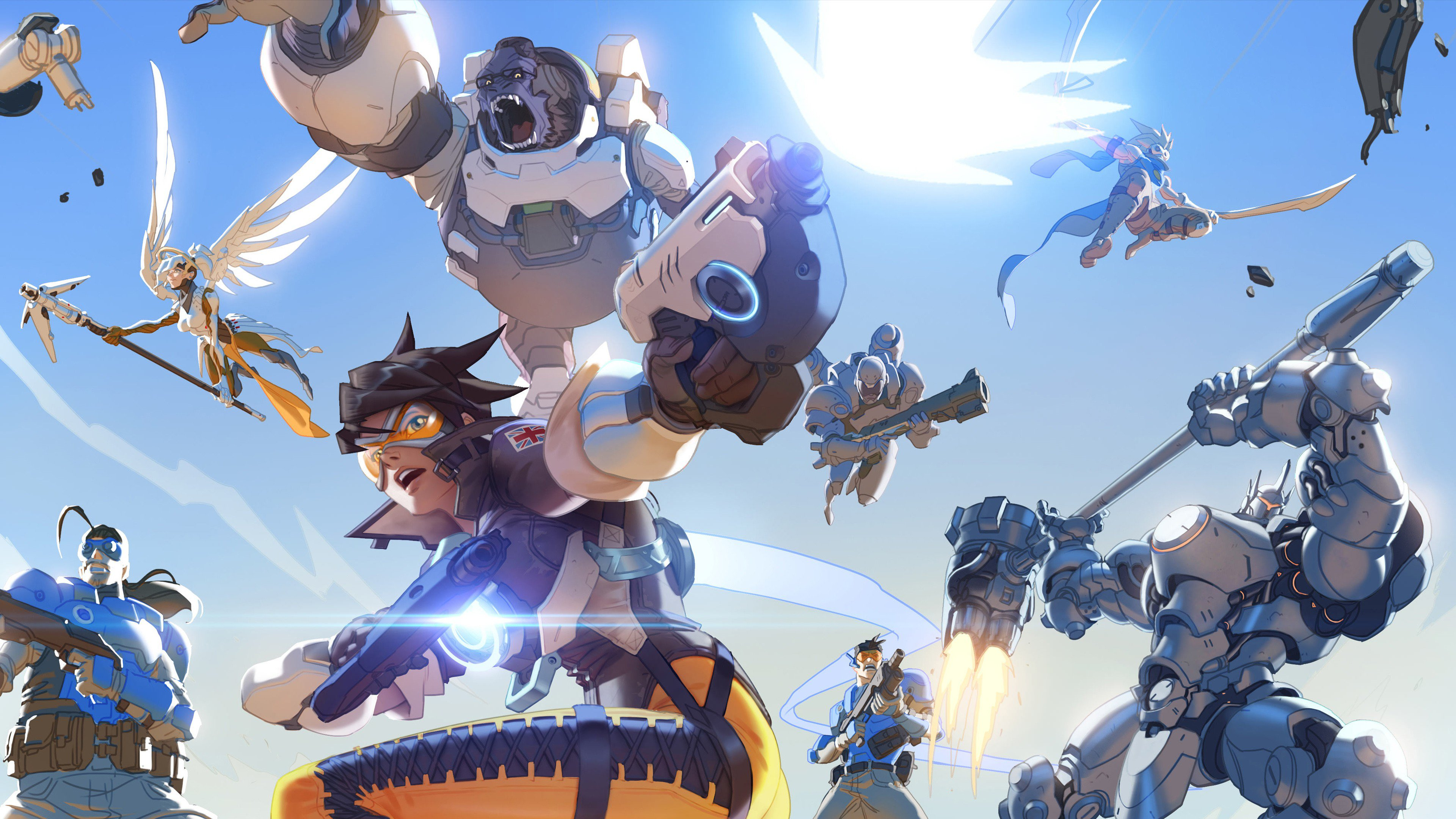 Overwatch 4k Wallpaper Games HD Wallpapers 3840x2160