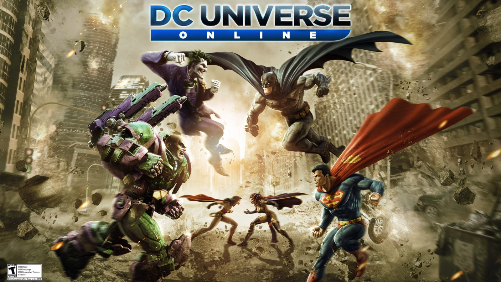 DC Universe Online Wallpapers HD Wallpapers 1600x900