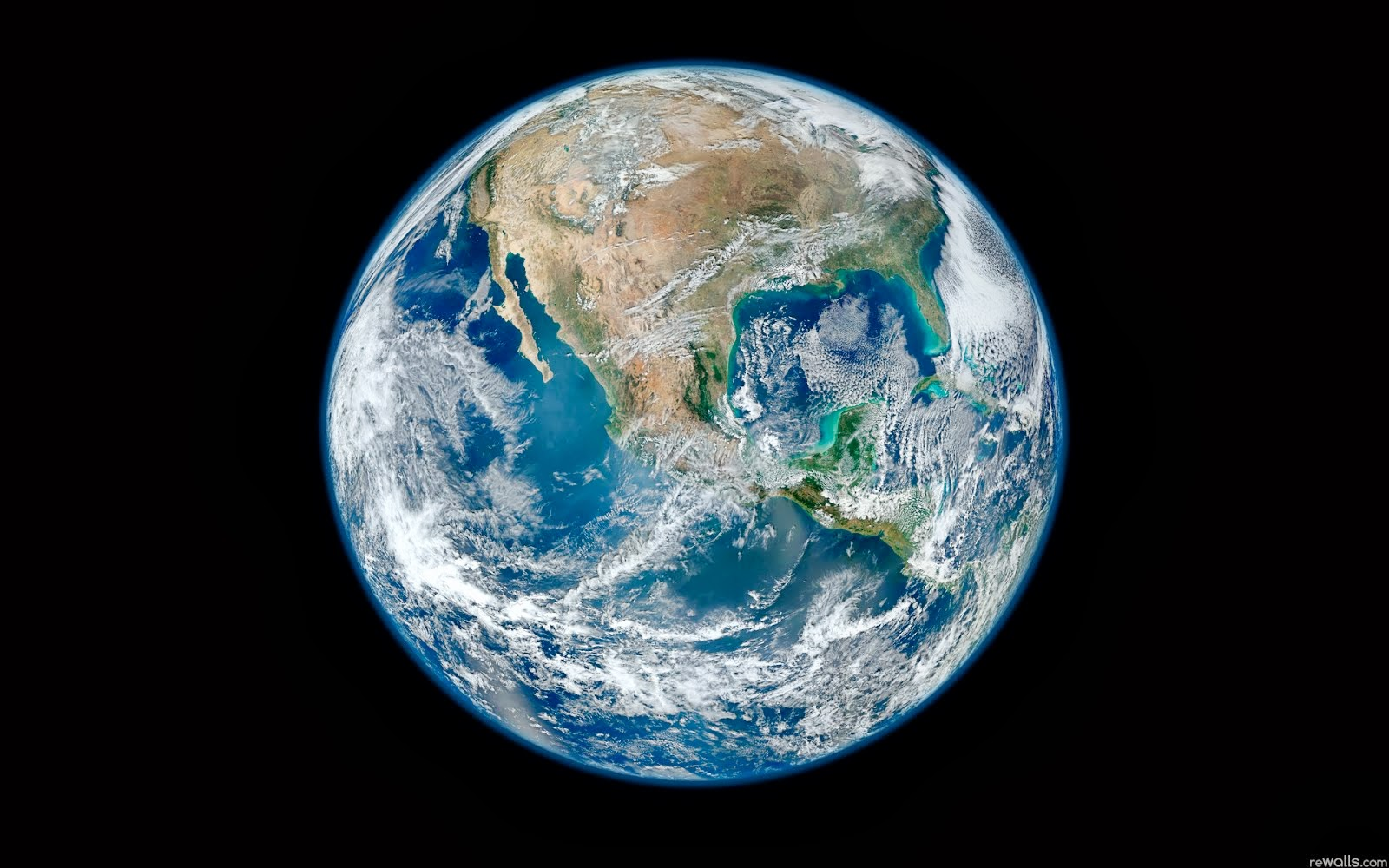 Earth From Space Wallpaper | Space Wallpaper