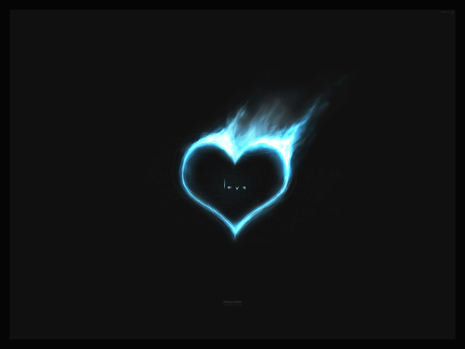 Emo love background See To World 1600x1200