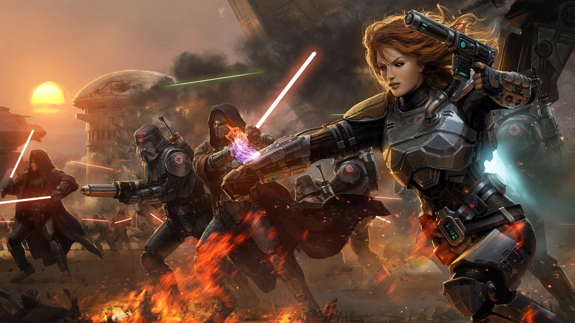 Star Wars The Old Republic Backgrounds HD 1920x1080