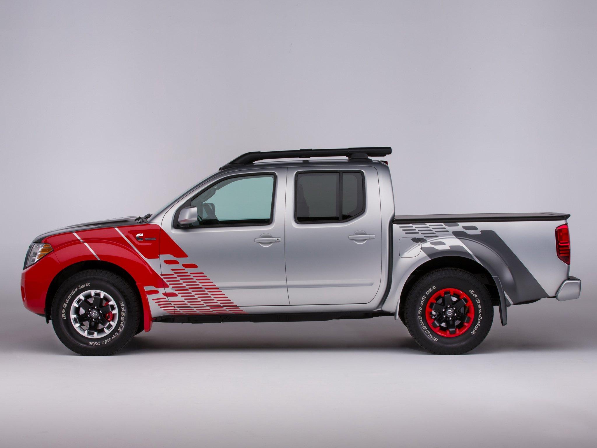 Nissan frontier diesel runner concept pickup r wallpaper background