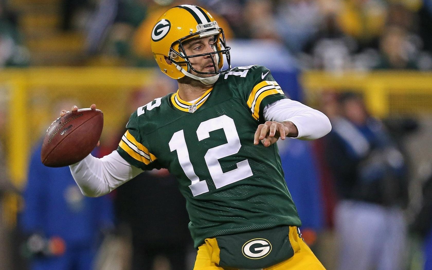 1680x1050 Football American Football Aaron Rodgers 1680x1050