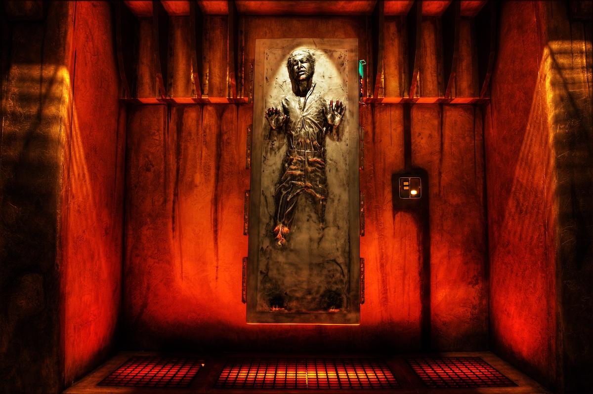 Han solo carbonite wallpaper wallpapersafari - Han solo wallpaper ...